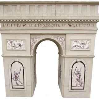 +PAR200 Arc de Triomphe entrance model