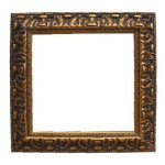 +ART209B Gold Frame square