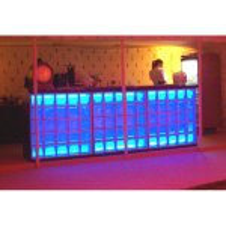 +BAR100 LED Glass Block Bar