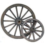 +WWE206A Wagon Wheels (Resin)