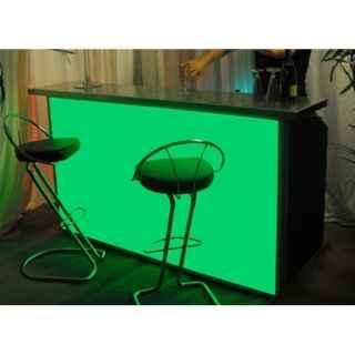 +BAR153L Portabar 3 Bay LED in Green