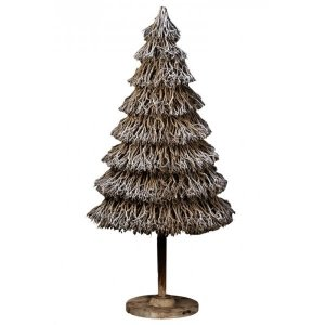 +CHR312B Wood Xmas Tree Large