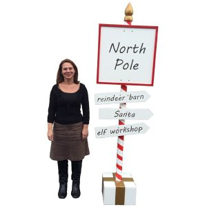 +CHR214 North Pole Sign