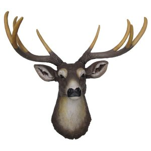 +CHR202 Deer Head Wall Hanging