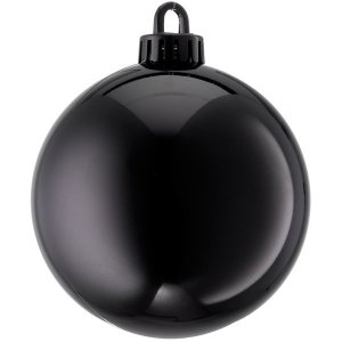 +CHR335XBL.S Black Bauble Shiney