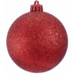 +CHR335XR.G Red Bauble Glitter