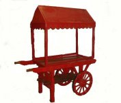 +CAT011 Hand Cart with Canopy - Web Image