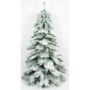 +CHR319D Tree Flocked Snow
