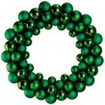 +CHR345GR Green Bauble Wreath