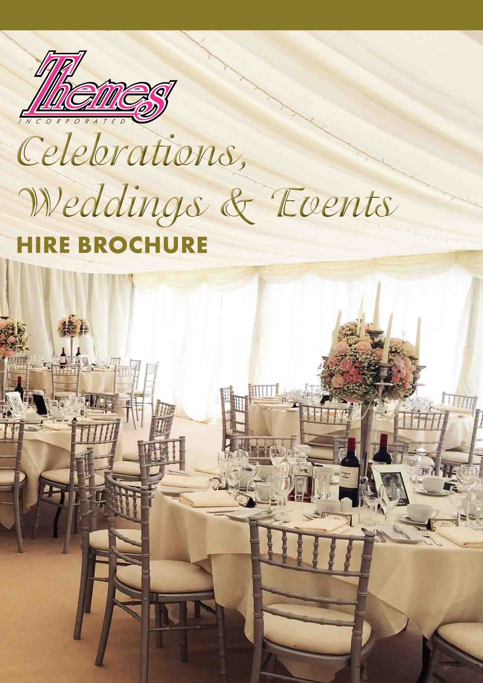 CELEBRATIONS, WEDDINGS & EVENTS BROCHURE