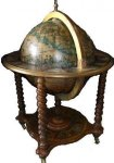 +ARD213 Globe in piece of Furniture