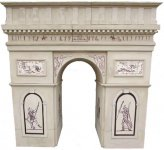 +PAR200 Arc de Triomphe entrance model