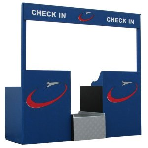 +ARD205 Airport Check In Desk 3D
