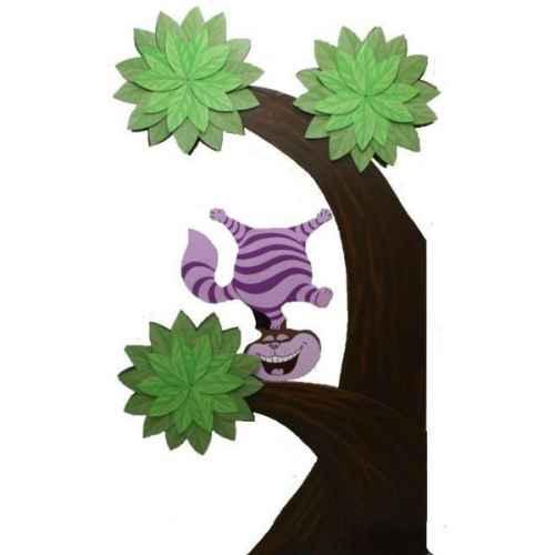 +ALI249 Cheshire Cat & Tree 2D Model