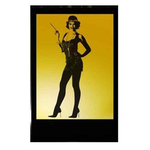 +ART101 flappergirl silhouette