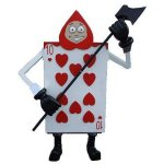 +ALI118 Soldier Playing Card Heart