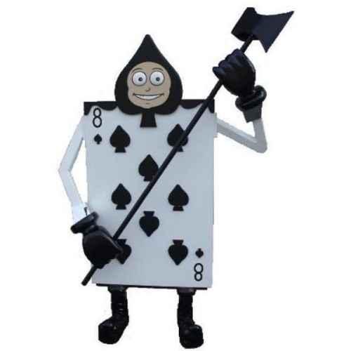 +ALI118B Soldier Playing Card Spade