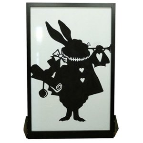 +ALI104 Rabbit Silhouette