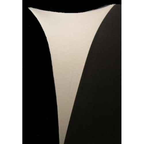 +BandW035 White Latex Triangles