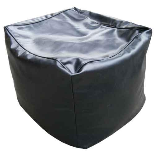 FUR311 Bean cube in black