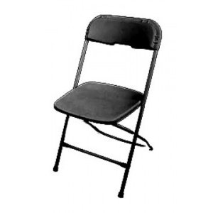 FUR200 Folding Chair (Black)