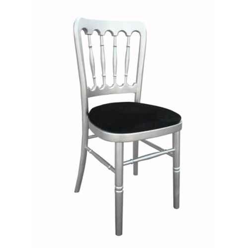 FUR211SB Meecham Silver with Black Seat Pad