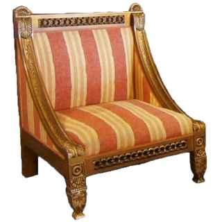 FUR245 Lounge Chair Ornate