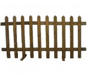 +GAR206 Palisade Fencing Wood web