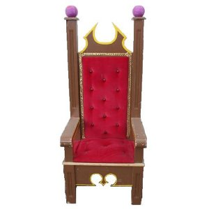 FUR605 Queen Throne