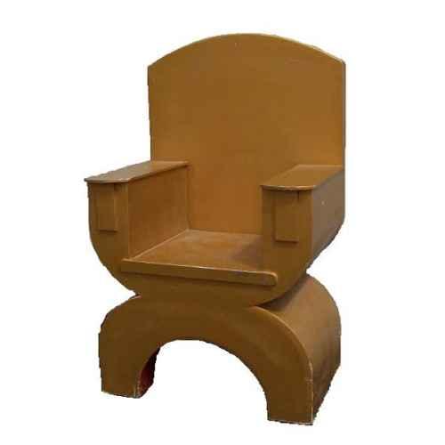 FUR601 Gold Throne