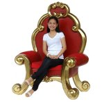 FUR611 Red Gold Throne