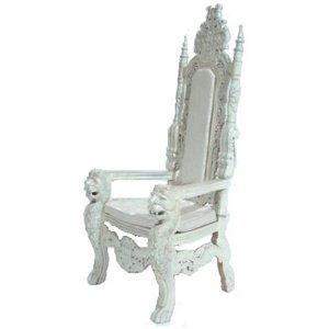 FUR610 White throne