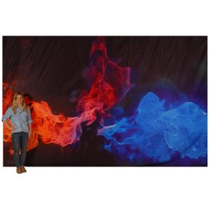 +HEV001 Backdrop Fire and Ice