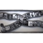 +HOL005 6m x 3m Hollywood Film Scroll Backdrop