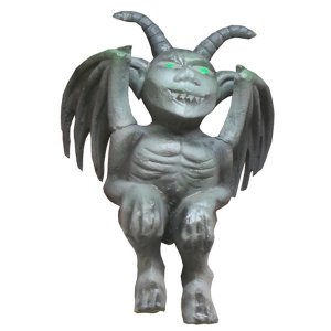 +HAL218 Gargoyle with green eyes