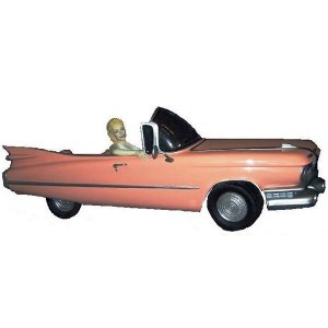 +HOL208A Monroe in Pink Cadillac 3D Model