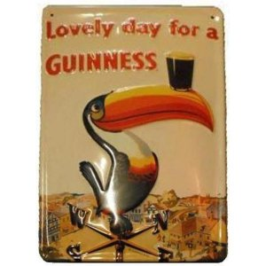 +IRE114 Guinness Toucan Plaque