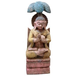 +IND222 Traditional Carved Buddha 1