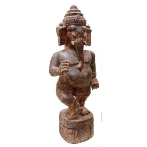 +IND224 Ganesh Carved Model