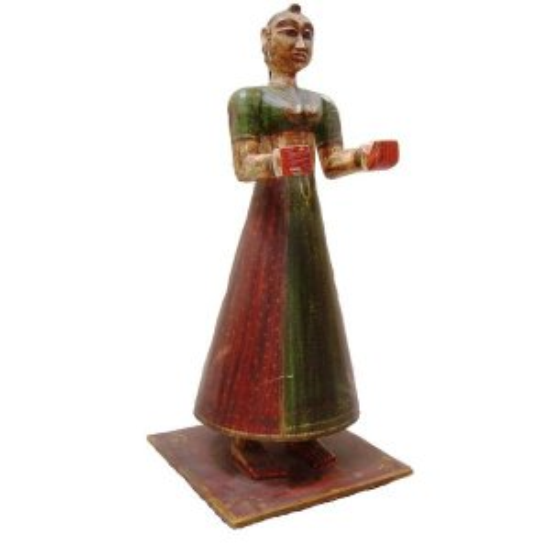 +IND221A Maharani Carved Model