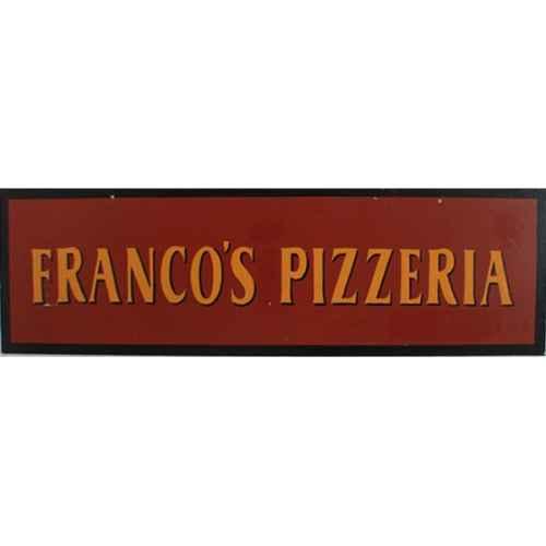 +LON313G Franco's Pizzeria Sign