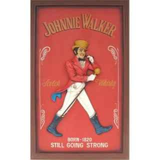 +LON332 Giant Johnny Walker Advert