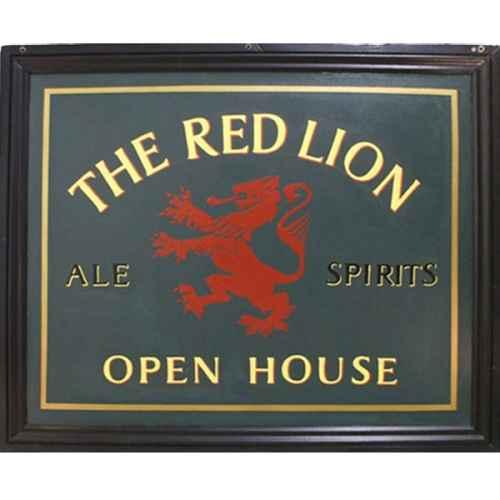 +LON310 Red Lion Pub Sign