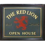 +LON310 Red Lion Pub Sign