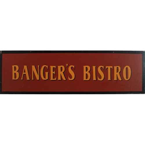 +LON313F Bangers Bistro Sign