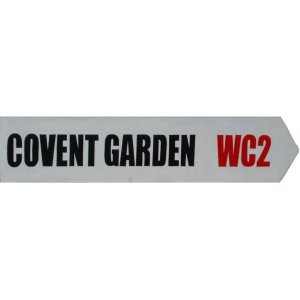 +LON300 Covent Garden Street Sign