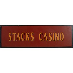+LON313E Stacks Casino Sign