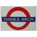 +LON304A Marble Arch Underground Sign