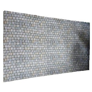 +LON105 Stone Effect Walling on material.1