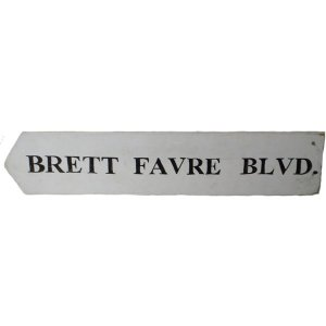 +NEW300C Brett Fayre Blvd Sign